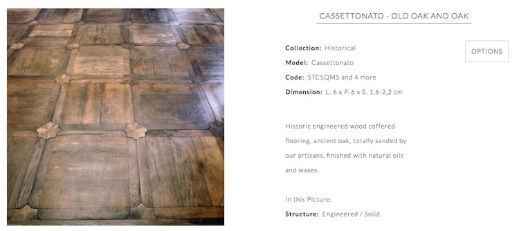 coffered floorings page