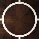 coloured parquet flooring: monaco