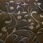 coloured parquet flooring: cloe