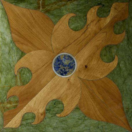 inlaid floor company: raphael sumptous wood panel