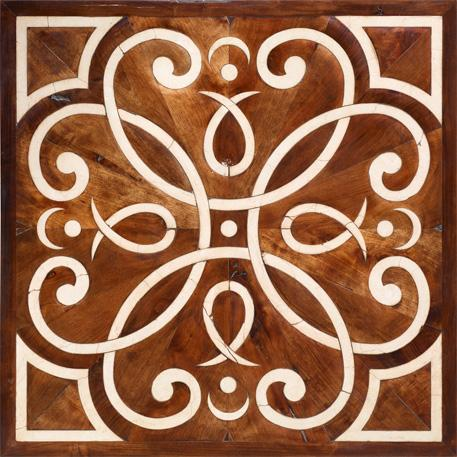 inlaid oak floor floreale