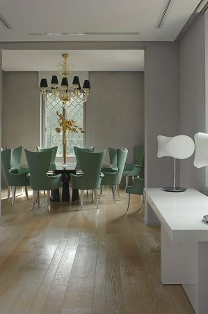 luxury green chairs wood flooring vassalletti creation rome
